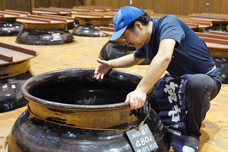 萬世酒造焼酎蔵ギャラリー6