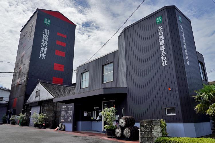 本坊酒造焼酎蔵ギャラリー1