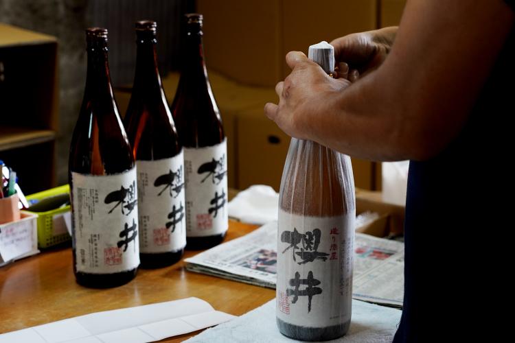 櫻井酒造焼酎蔵ギャラリー1